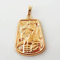 Ладанка  Xuping Иисус Христос  золото 18К