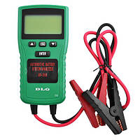 Тестер автомобильных аккумуляторов 215 DI DLG: кабели с зажимами 70 см, для батарей 12В, 180х90х32 мм