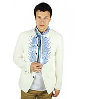 Пиджак с Лена. Мужской пиджак. Вышитый мужской пиджак. Пиджак в украинском стиле.