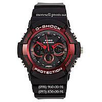 Casio G-Shock GA-200SH Black-Red