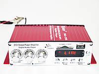 Усилитель двухканальный Kinter MA-120 с MP3 плеером, FM Радио и пультом д/у