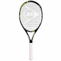 Ракетка теннисная Dunlop Force 105 черный-желтый, 275 грамм