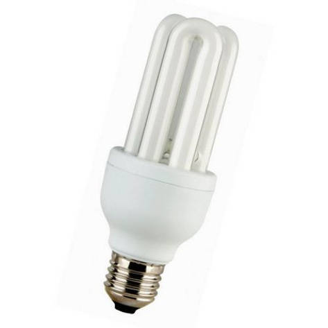Лампа КЛЛ Volta 3U 230В 11Вт Е14 2700К , фото 2
