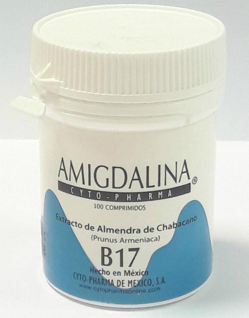 Вітамін Б17 (100мг), B-17, мексиканський амігдалин, 100 табл.