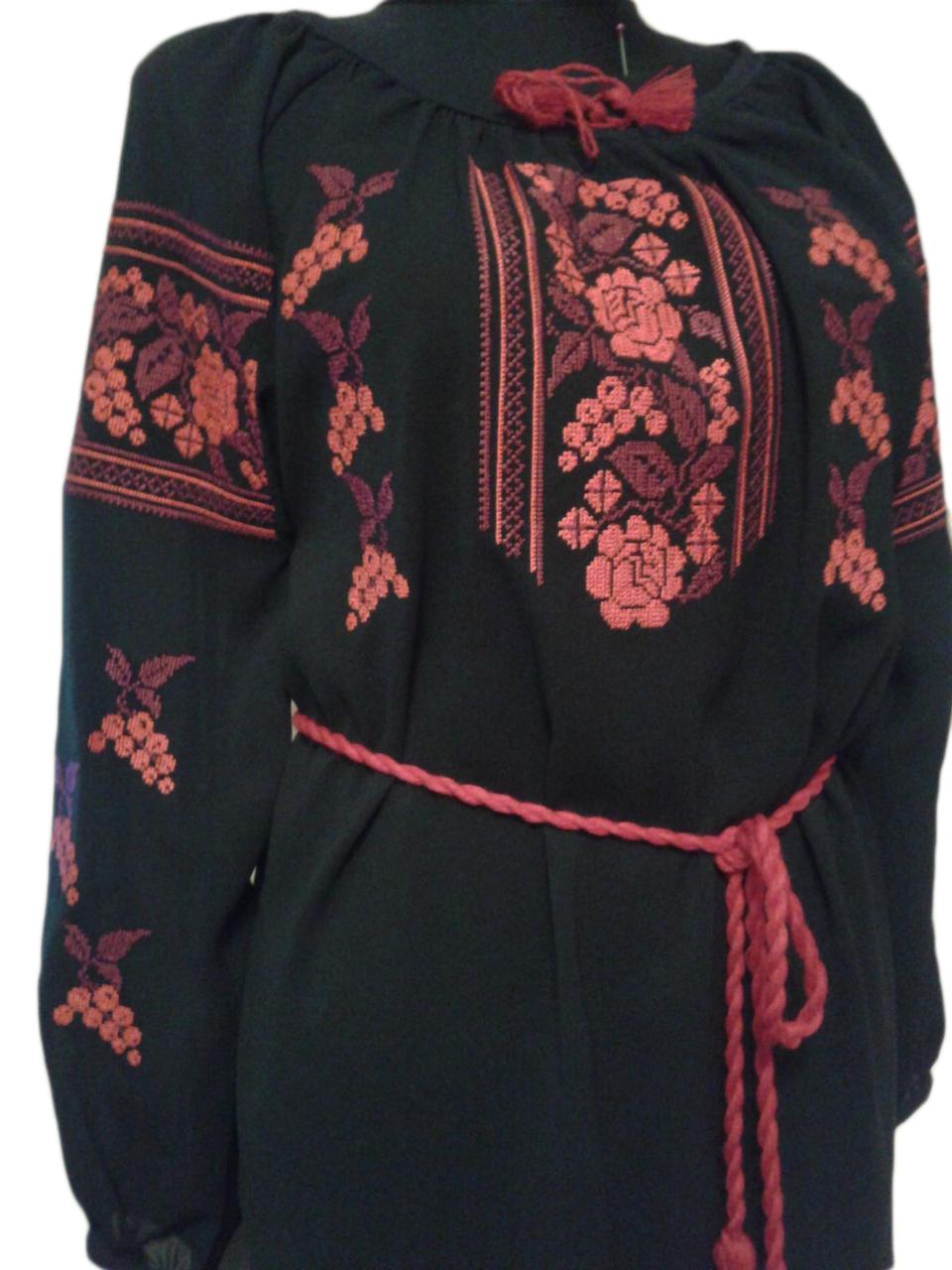 """Женская вышитая рубашка """"Нелли"""" BU-0010"""
