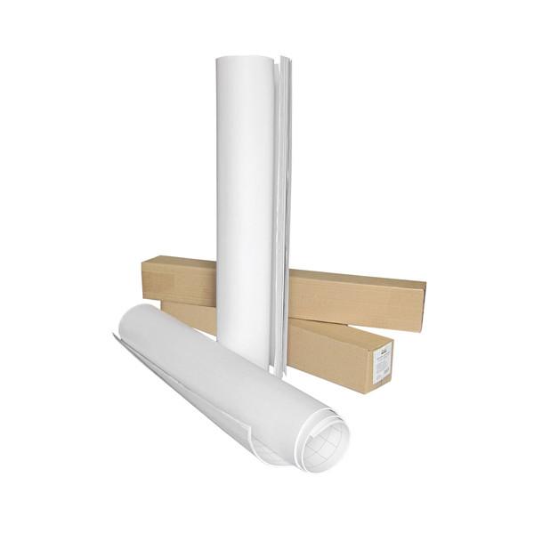 8060-А Блок паперу для фліпчарту, 64х90,  20 арк., нелін.