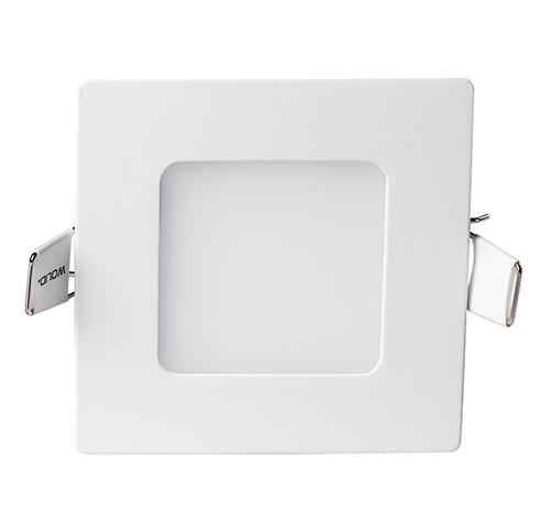 Светодиодный светильник 3w 4000K квадрат