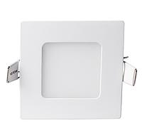 Светодиодный светильник 3w 4000K квадрат, фото 1