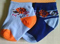 Набор - Носочки голубые для новорожденных, 2 пары