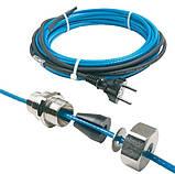 Саморегулирующийся нагревательный кабель DEVIpipeheat 10 с вилкой, фото 2