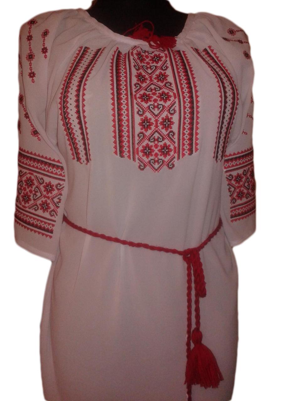 """Жіноча вишита сорочка (блузка) """"Одра"""" (Женская вышитая рубашка (блузка) """"Одра"""") BU-0013"""