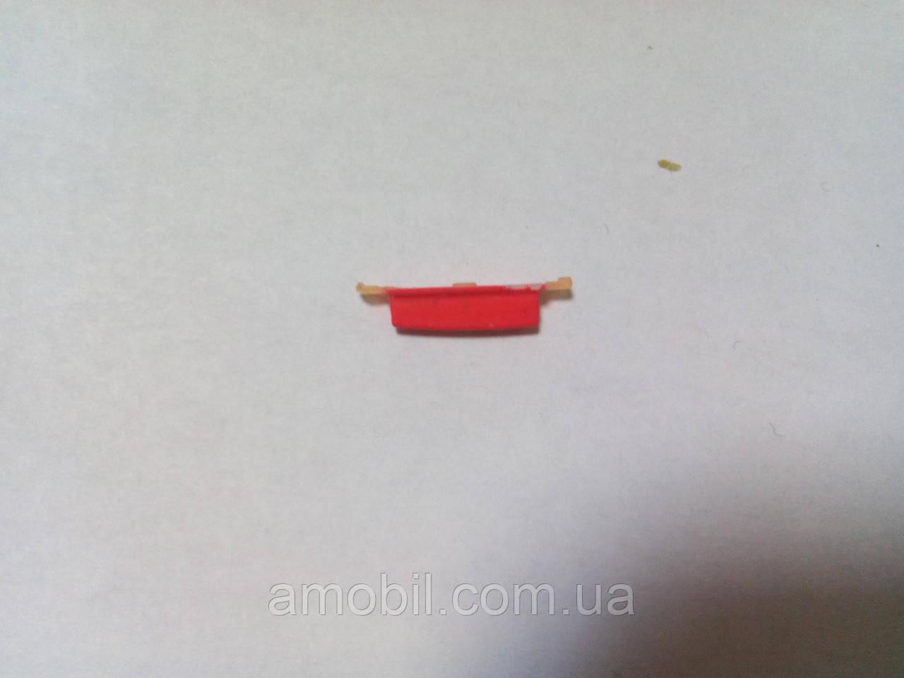 Кнопка включения на Lenovo S820 красная orig
