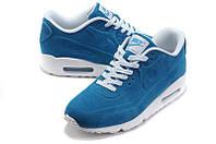 Кроссовки женские Nike Air Max 90 VT Blue White. кроссовки найк женские, обувь интернет