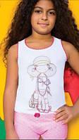 Комплект нижнего белья для девочки с рисунком Модница, 3-10 лет