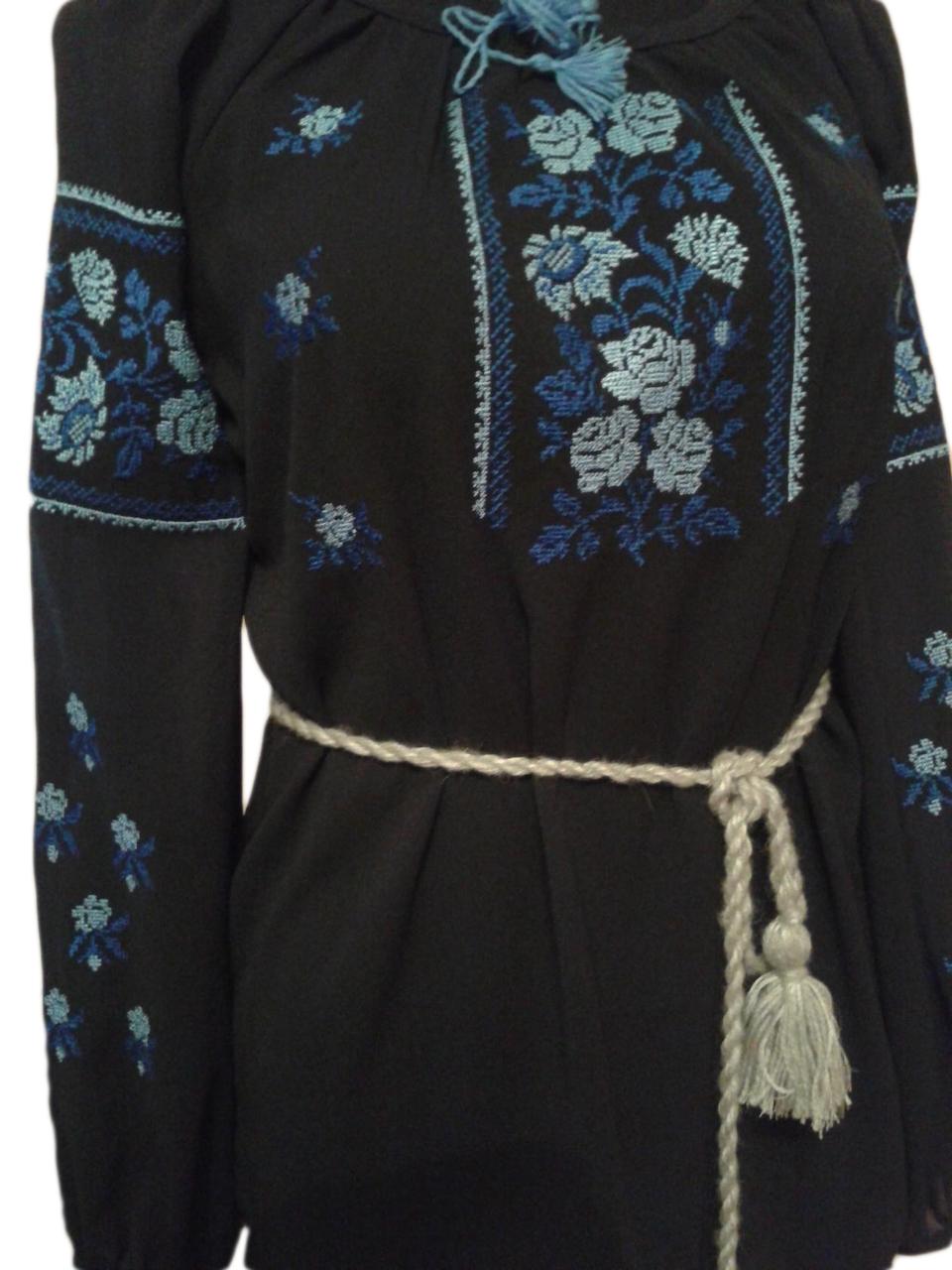 """Женская вышитая рубашка """"Ерчел"""" BU-0016"""