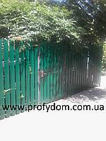 Штакетник металлический, евроштакетник, 0.45 мм, полиэтер, Китай, Украина, Польша