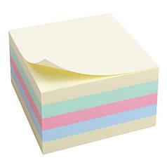 2324-00-А Блок паперу з клейким шаром75x75мм,450арк,паст.куб