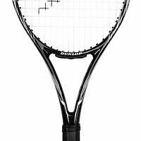 Теннисная ракетка Dunlop Blackstorm 4D черная, 270 грамм