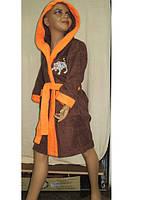 Халаты детские махровые