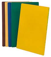 Доска для нарезки 375х500 желтая