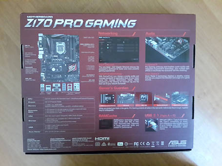 Материнская плата Asus Z170 Pro Gaming, фото 2