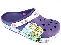 Детские светящиеся Крокс crocs Frozen Fever Light-Up Clog