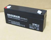 Аккумулятор 6V 3.2Ah Bossman profi  3FM3.2 - LA632, фото 1