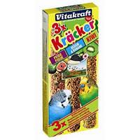 Крекеры для волнистых попугаев инжир, банан, киви Vitakraft (Витакрафт)