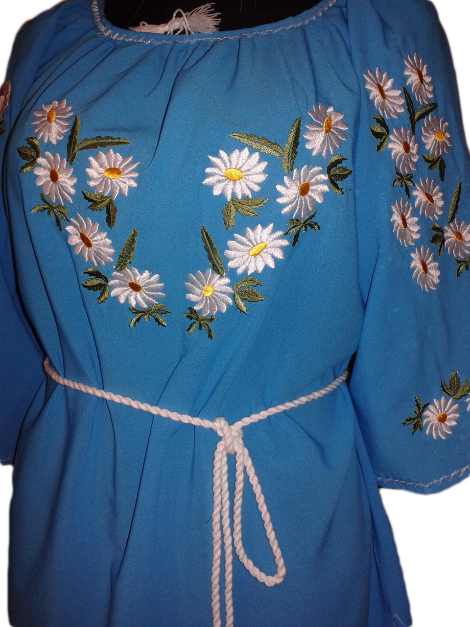 """Женская вышитая рубашка """"Ерсол"""" BU-0020"""