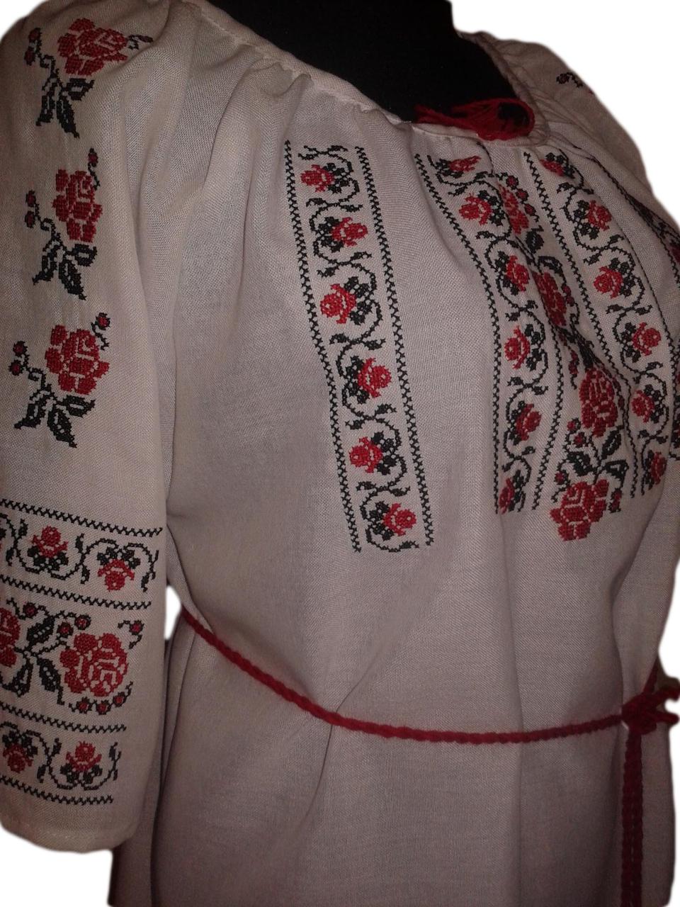 """Женская вышитая рубашка """"Нелла"""" BU-0024"""