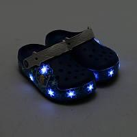 Светящиеся Крокс на девочку crocs Girls´ CrocsLights Frozen Clog