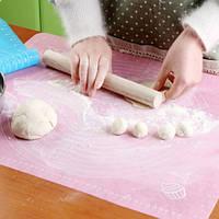 Силиконовый коврик для раскатки и выпечки 40х50 см. (с разметкой)