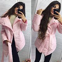 Куртка женская зимняя синтепон,  ГОЛУБОЙ
