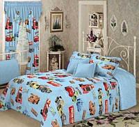 Детское постельное белье Вилюта комплект подростковый Тачки