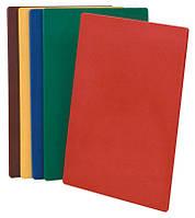 Доска для нарезки 375х500 красная