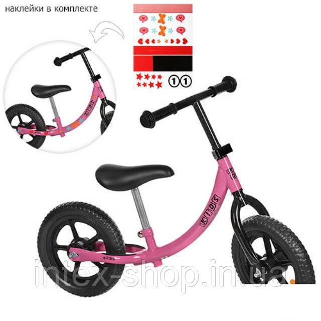 Детский Беговел M 3437 Profi Kids, розовый