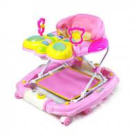 Ходунки детские на колесах бабочка Tilly 2268 цвета в ассортименте