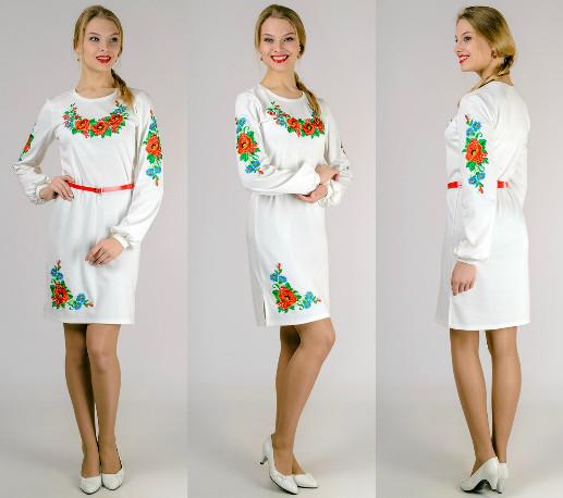 3b449060dd48e75 Платье вышиванка