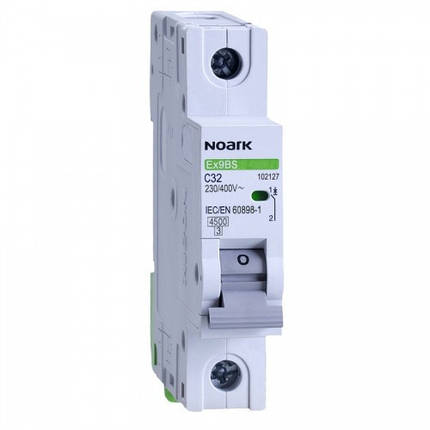 Автоматичний вимикач 4,5 kA, хар-ка C, 25 A, 1 полюс, фото 2