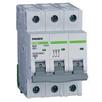 Автоматичний вимикач 4,5 kA, хар-ка C, 8 A, 3 полюси