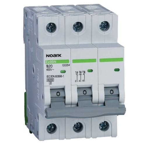 Автоматичний вимикач 4,5 kA, хар-ка C, 50 A, 3 полюси