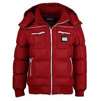Демисезонные куртки на синтепоне для мальчиков от производителя Glo-story красные. В наличии 128,134р.