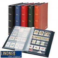 Кляссер Lindner Elegant - 60 страниц - А4 - чёрные листы