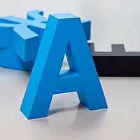 Изготовление светодиодных объёмных букв