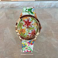 Весенние женские наручные часы Geneva