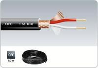 Микрофонный кабель в нарезку Monacor MLC-102/SW