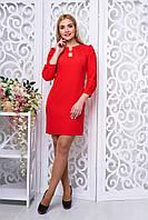 Женское  красное  платье  Вояж   44-50  размеры