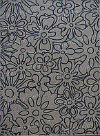Ковер Optima Flower, цвет слоновой кости с синим