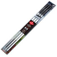 Набор шампуров Forester больших с деревянными ручками 6 шт 55 см