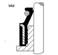 Сальник клапана in/ex hyundai/nissan g4hc/qr25de/yd22eti/vq35de vsb fpm 6x10/0x7 (производство Corteco ), код запчасти: 19020004